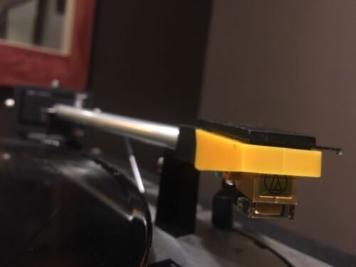 Dual 1019 Turntable and More in Yellow Best Audio TK-12 Cartridge Holder