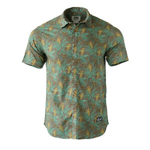 213f279e94f04 Details about Beautiful Giant Men s Hawaiian Floral Vacation Short Sleeve  Button Up Shirt