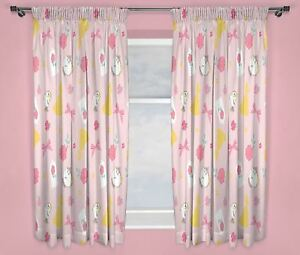 Disney-Princess-Beauty-And-The-Beast-Belle-Curtains-54-034-and-72-034-Drop