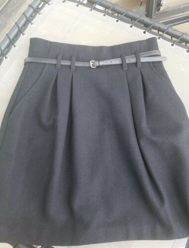 NWT $245 THEORY BLACK COLOR HOLLYANN AMAZING  SKIRT SZ 10 FREE SHIPPING