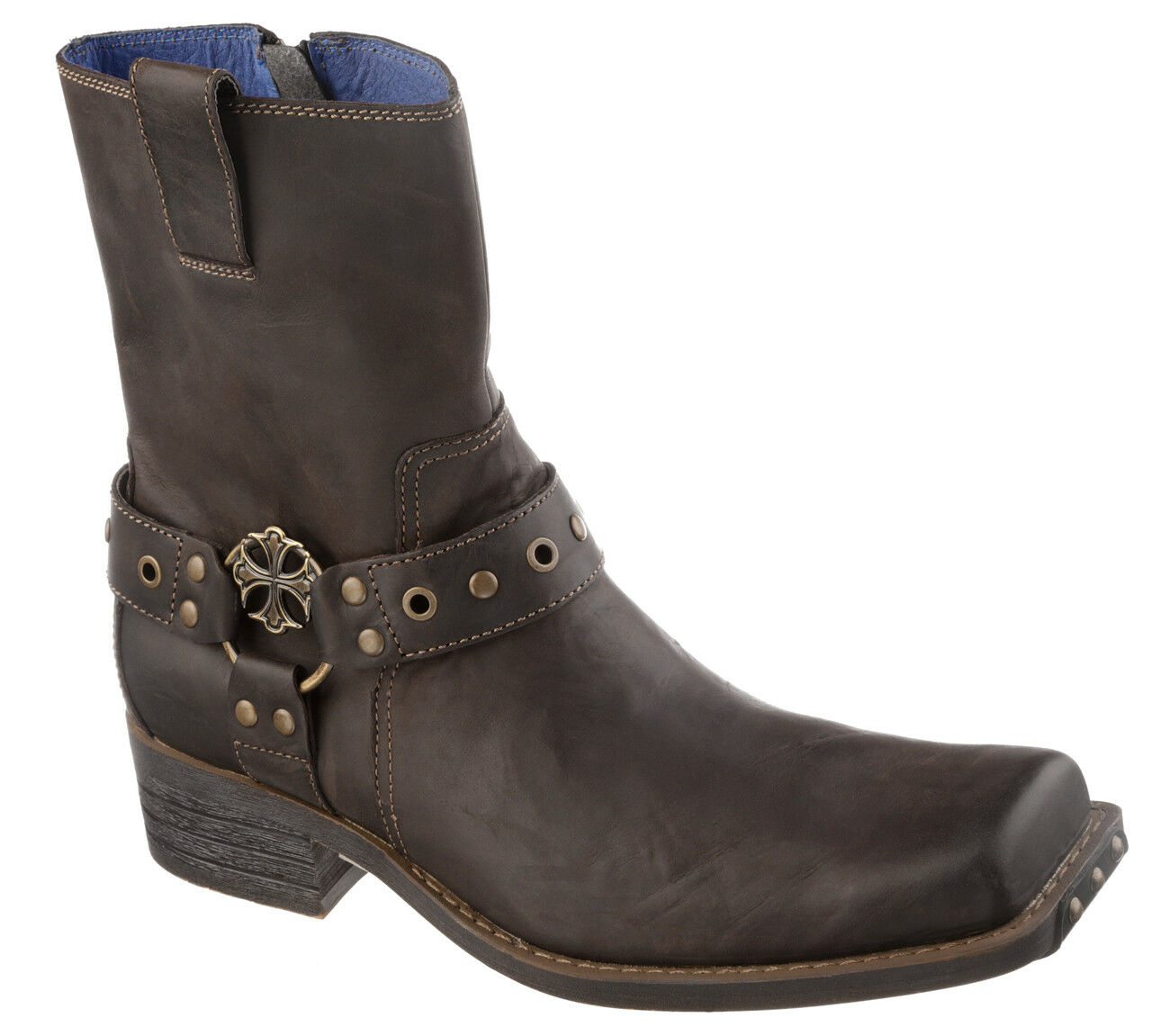 Mark Nason Finley Boots  Dark Brown