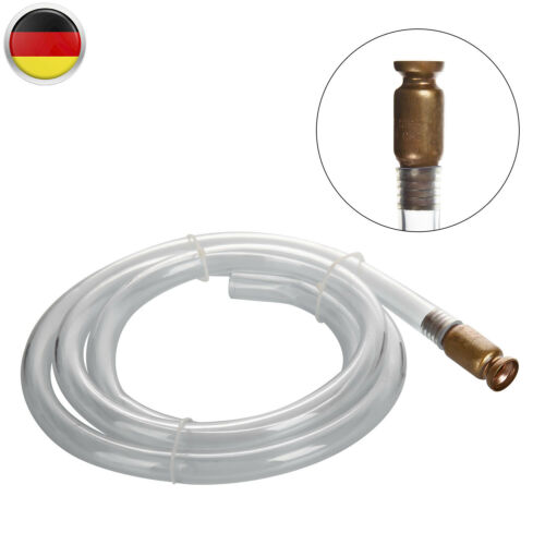 2m Schüttelpumpe Syphon Schlauchpumpe Ablassen Selbstansaugende Wasser Benzin DE