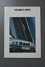 R&L Sales Brochure: BMW 5 Series 1991, 535 525 518 520
