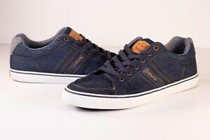 Levi-039-s-Denim-Comfort-Tech-Insole-Men-039-s-Size-13-Navy-Shoes-5182221309U