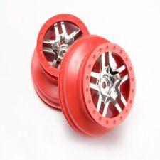 Traxxas 6872a Wheels SCT Split-spoke Chrome Slash 4x4