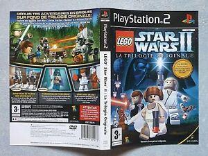 Jaquette Lego Star wars 2 pour Jeu PS2.TBE.FRA.ENVOI SUIVI.