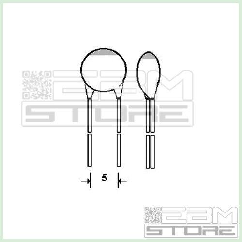 FX07 ART 50 pz condensatori a disco 39 pF