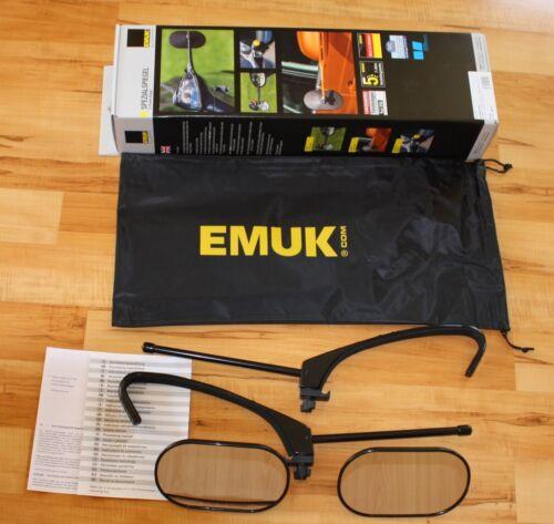 EMUK 100158 Wohnwagenspiegel Caravanspiegel Anhängerspiegel VW TIGUAN 5N NEU