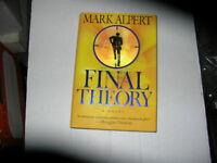 Final Theory By Mark Alpert (2008) Signed 1st/1st