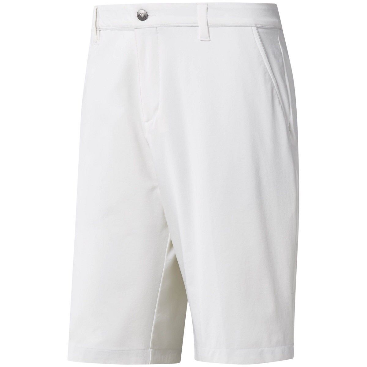 Adidas Ultimate 365 Twill Short (34) in White Grey NEW W TAG