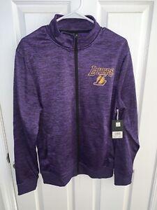 Nba Los Angeles Lakers Sweatshirt Zip up NWT Medium VKM5396F