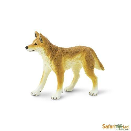 Dingo 10 cm serie animales salvajes Safari Ltd 228229 novedad 2017