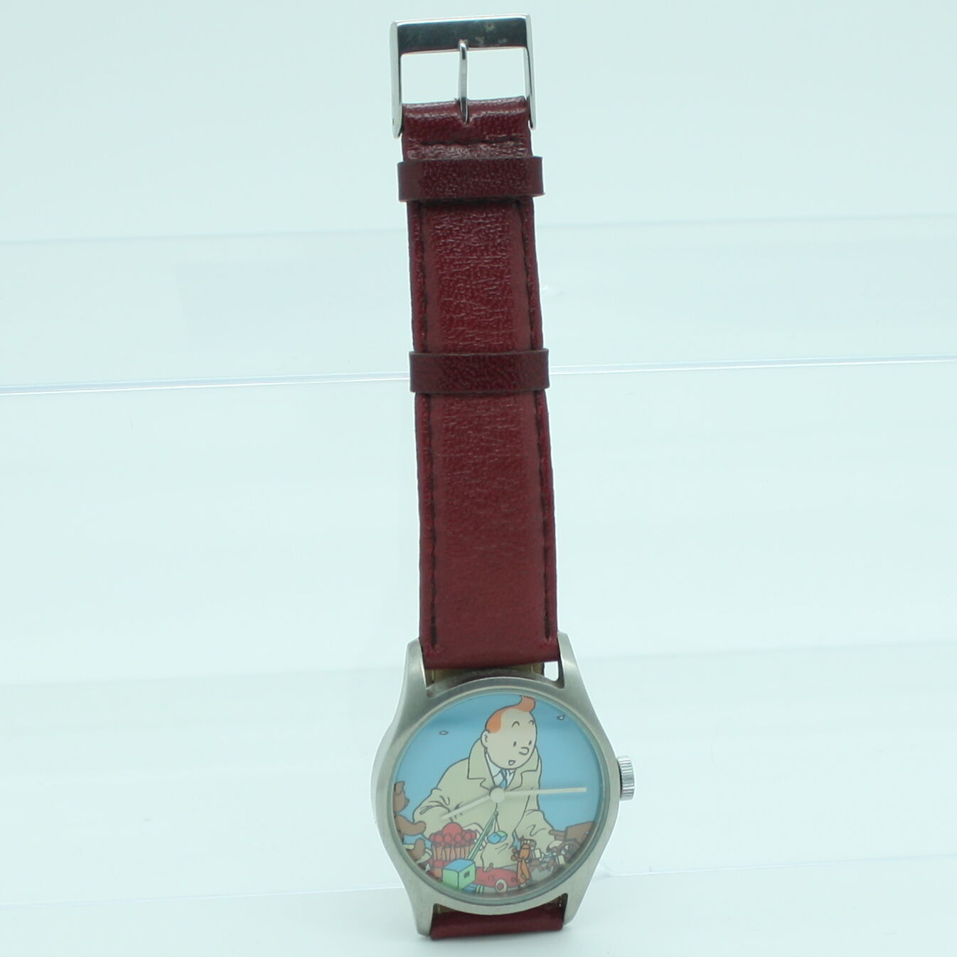TINTIN MOULINSART HERGE Montre Horloge orologio - 82073 Jouets Bordeaux OK