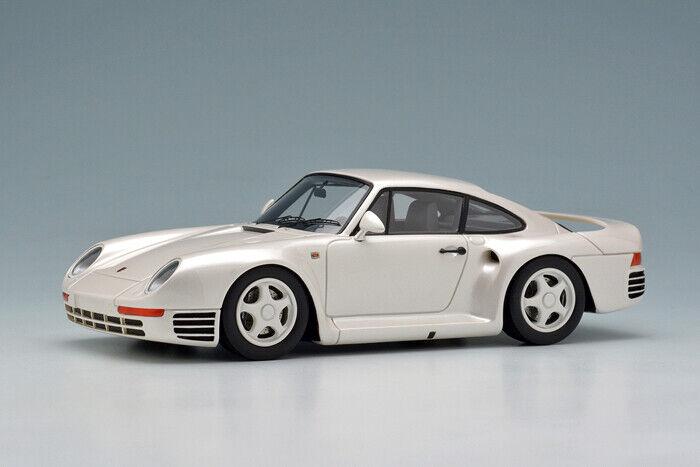 Maquillaje Eidolon EM305A 1 43 Porsche 959 1986 biancao Perla