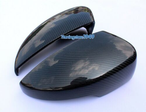 1:1 Replace Carbon Fiber Door Wing Mirror Cover For Ford Focus 2012-2018