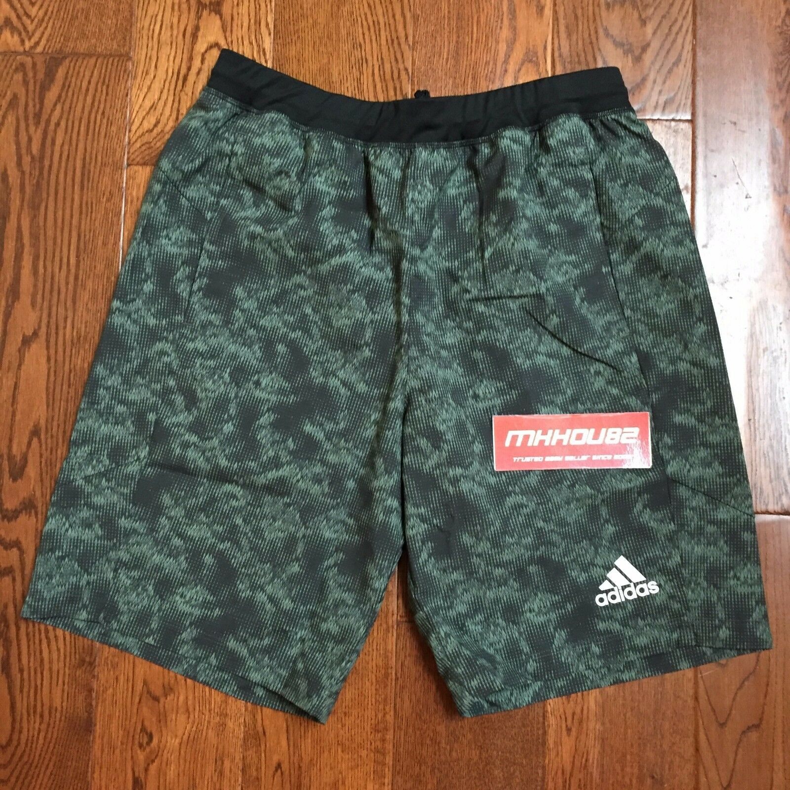New Adidas Athlete ID Snake Strike Shorts Climalite 10  Running BK3676 Size M