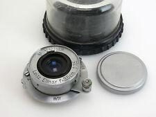 Leitz Elmar 3,5/3,5cm #605532 Leica M39 Schraubgewinde + Schutz-Box so222