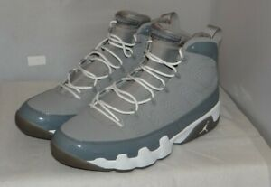 sports shoes 2cfe5 7f2a3 Image is loading Air-Jordan-9-Cool-Grey-Size-10-5-