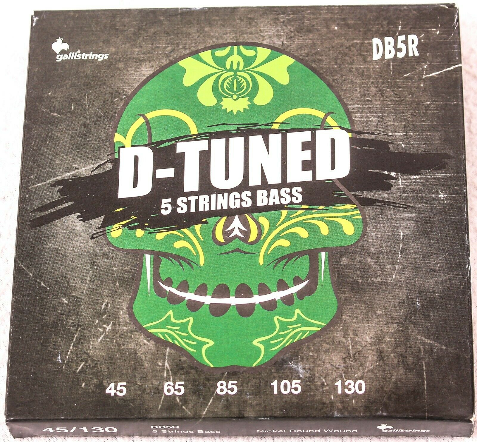 3-PACK, Gallistrings Db5R D-Tuned 5 String Bass, NEW