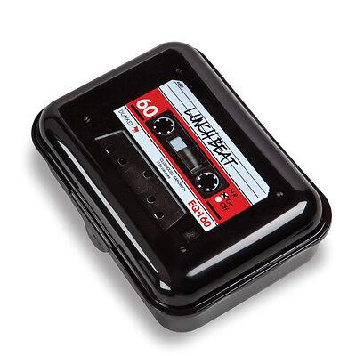 Donkey Products Brotdose Lunch Beat Kunststoff schwarz NEU + OVP