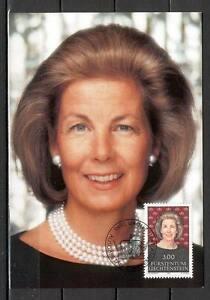 Maxi Card A72 Liechtenstein 1991 Princess Marie