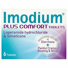 Imodium Plus Comfort 6 Tablets Cramps & Wind