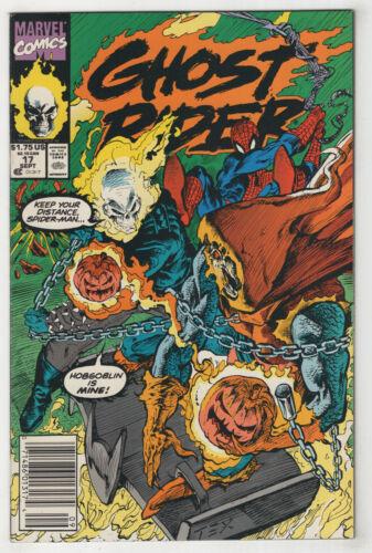 Ghost Rider #17 Ed 1991 Newsstand or Direct Hobgoblin Spider-Man Choice