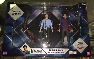 DOCTOR-WHO-11th-Doctor-series-five-action-figure-set-rory-dr-who-zero