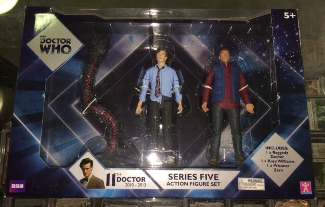DOCTOR WHO 11th Doctor series five action figure set - rory, dr who, zero