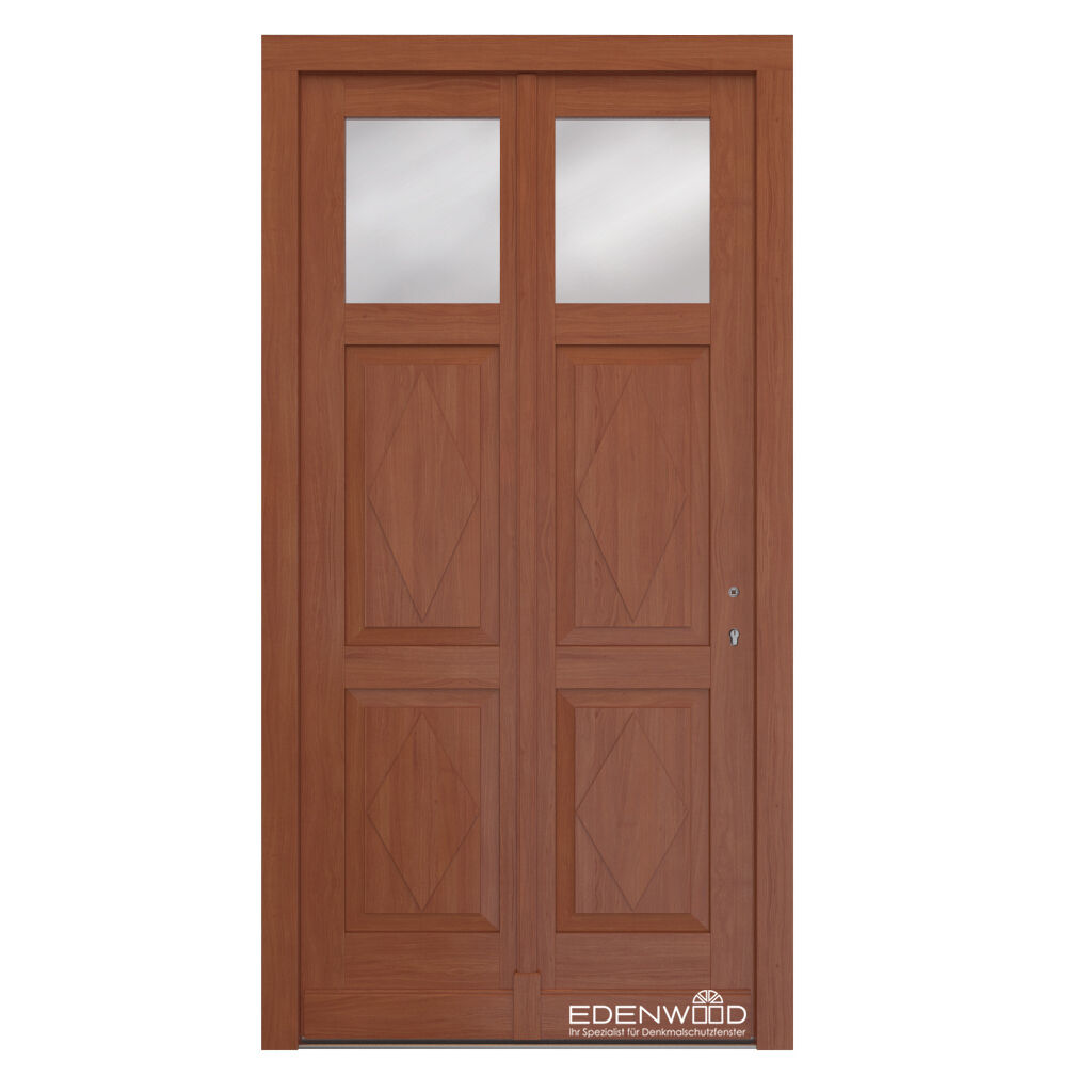Eingangstür Haustür aus Eiche massiv Holztür