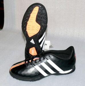 Details zu adidas B40878 11 Nova TF J Leder Schuhe Fußball Soccer 38 USA 5,5 Black White