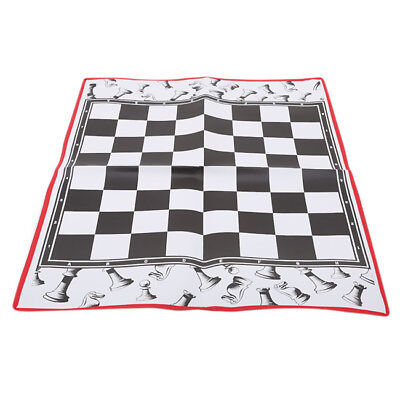 20 inches Mousepad Style Bobby Fischer Tournament Roll Up Travel Chess Board