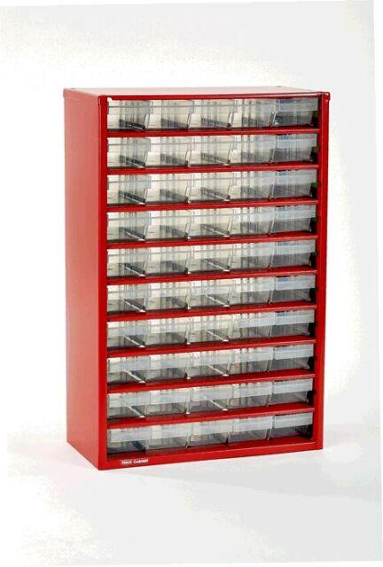 DAMAGED Limited Edition RAACO 50 x Drawer Storage/Organiser Cabinet EAN:127271