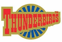 Gerry Anderson's Thunderbirds logo roundel enamel pin badge BRAND NEW  !