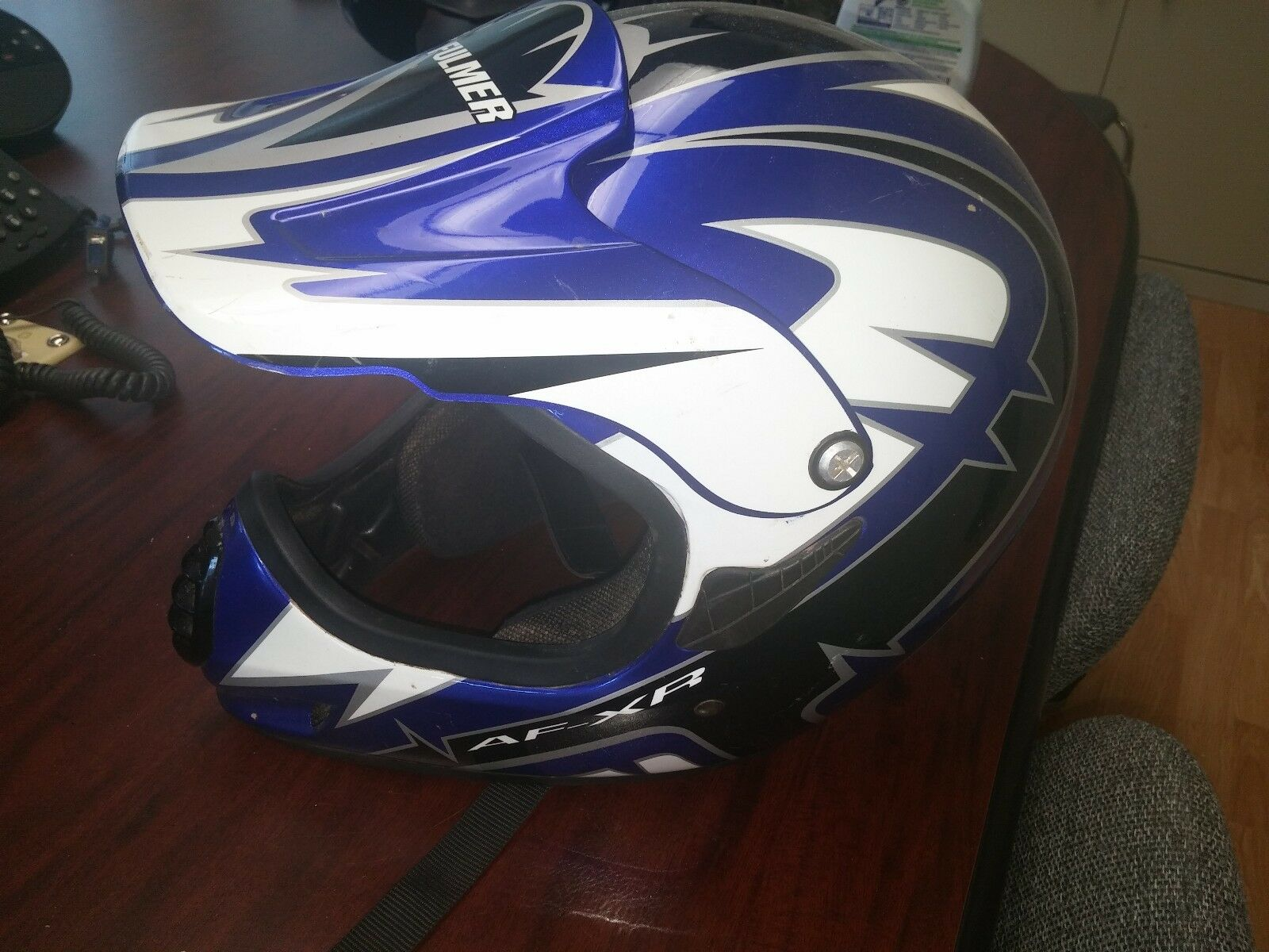 FULMER AFXR Medium Motorcycle Helmet.