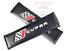 2x BLACK carbon CUPRA Seat Ibiza Leon FR Performance Sport Accessories