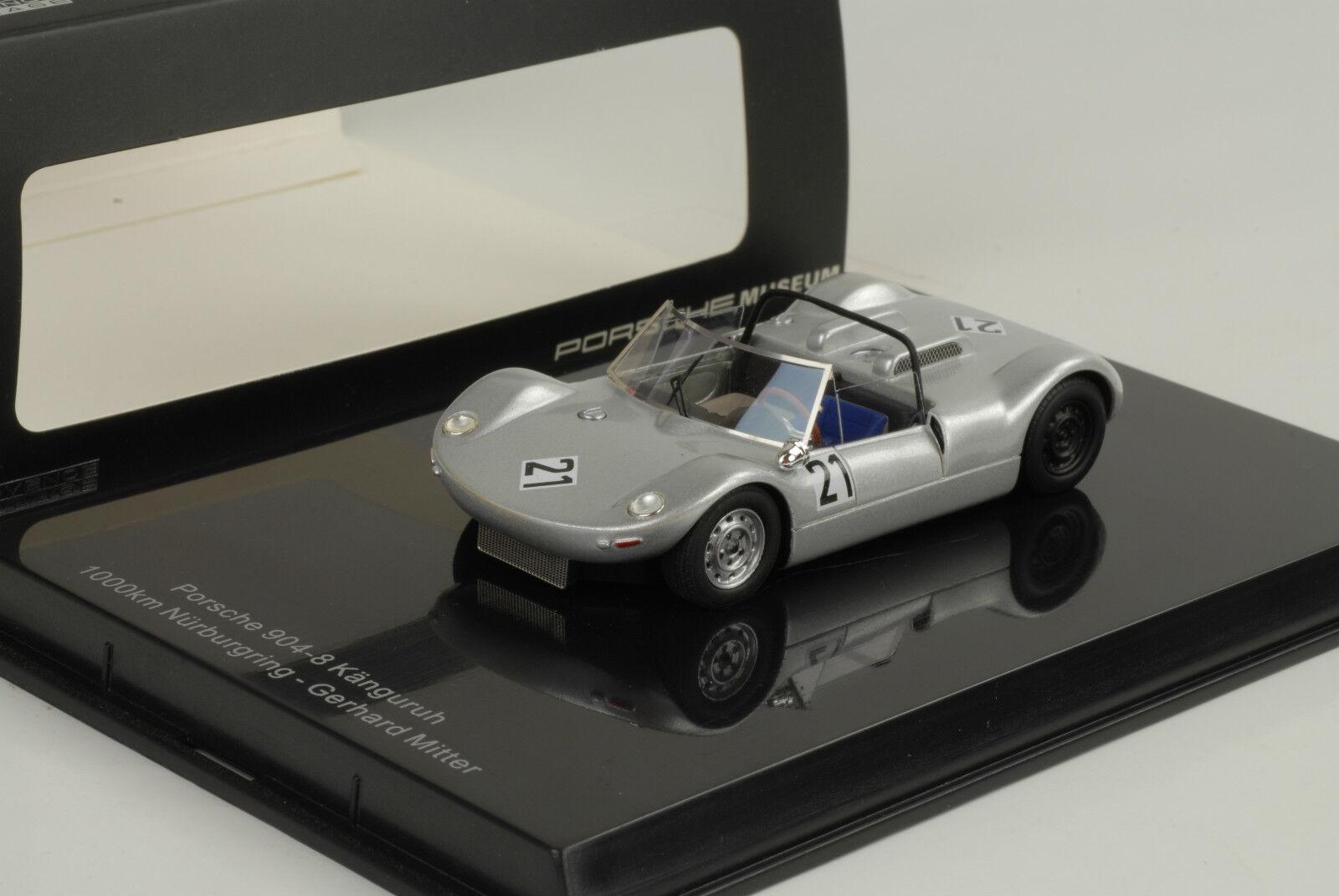 1965 Porsche 904-8 camaleón 1000 km nurburgring G. mediados 1 43 norev museo