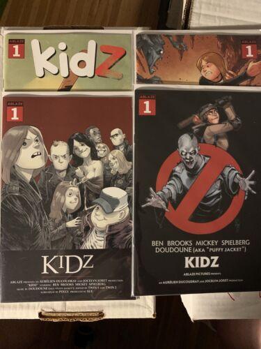 Details about  /Kidz #1 A B C D Ablaze NM