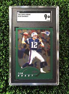 2002-Topps-Chrome-100-Tom-Brady-New-England-Patriots-SGC-9-PSA-POP-4