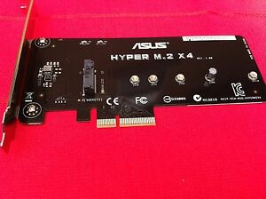ASUS-HYPER-M-2-X4-ACCESSORY-for-ASUS-MOTHER-BOARD-ORIGINAL-PART