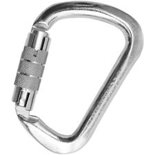 KONG 712 OVALONE AUTO BLOCK CARABINER LOCK LOCKING ALLOY UIAA /& CE CERTIFIED