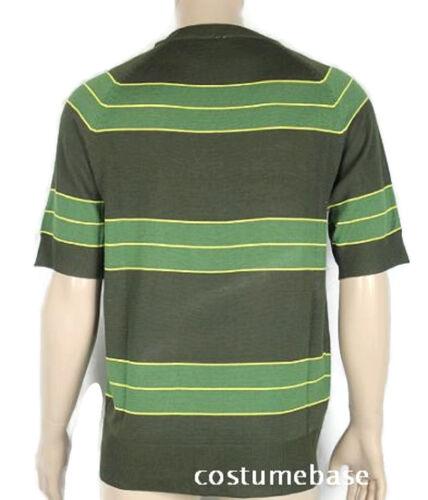 Kurt Cobain Sweater Sunglasses Set Green Short Sleeve Shirt Costume Nirvana