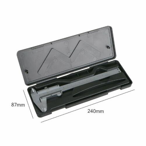 6 Inch//150mm Stainless Steel Vernier Caliper Micrometer Gauge Measure Tool  .