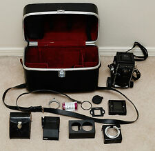 Mamiya C330 Professional Medium Format TLR with 105mm f/3.5, case, accessories