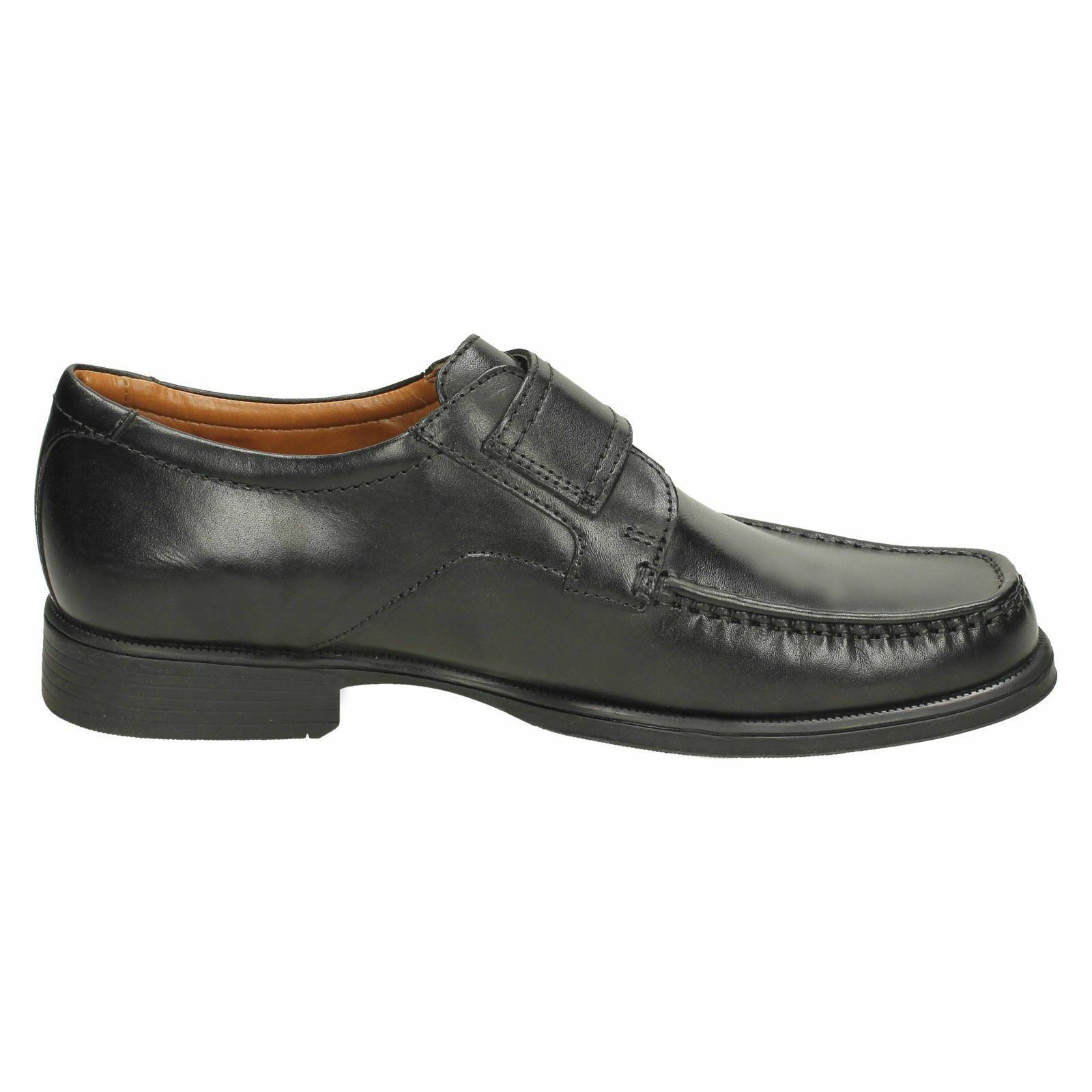 Clarks Mens Huckley Roll Cushion Cell Black Shoe Sizes  G Fitt R22F