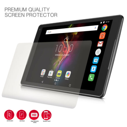 "Pack Of 1 Clear Tablet Screen Protector For 10.1/"" Archos Elements 101 Platinum"