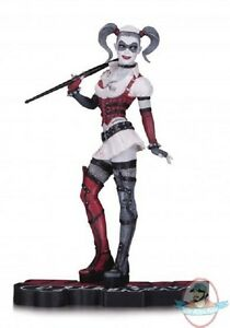 DC-Collectibles-Comics-Arkham-Asylum-Harley-Quinn-Red-White-amp-Black