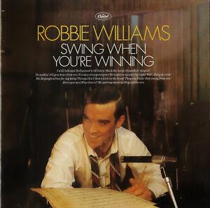 Robbie-Williams-CD-Swing-When-You-039-re-Winning-Europe-EX-M