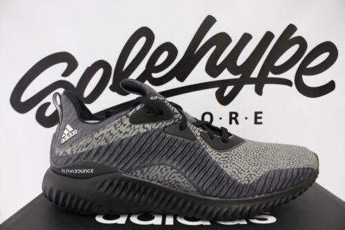 new product 0b836 3912a Adidas para 3m 10 Da9561 correr reflectante Ams Hpc Alphabounce negro Core  zapatillas Sz rOZqrC