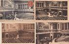 Lot 4 cartes postales anciennes VERSAILLES salle du congrès 2